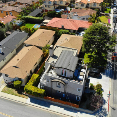 2122 Harriman Lane from above